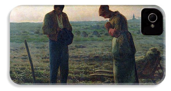 The Angelus IPhone 4 / 4s Case by Jean-Francois Millet