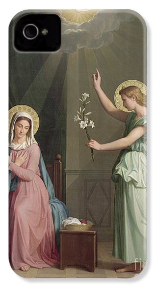 The Annunciation IPhone 4 / 4s Case by Auguste Pichon