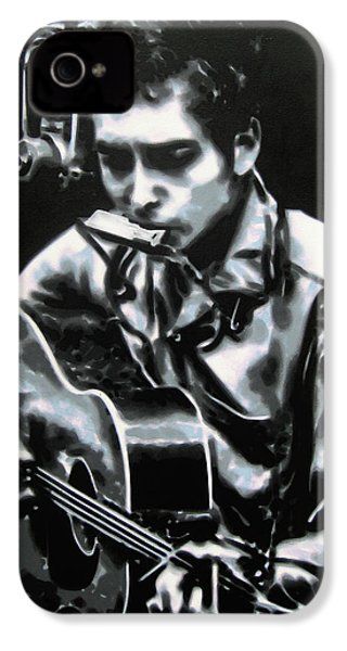 The Answer My Friend Is Blowin In The Wind IPhone 4 / 4s Case by Luis Ludzska