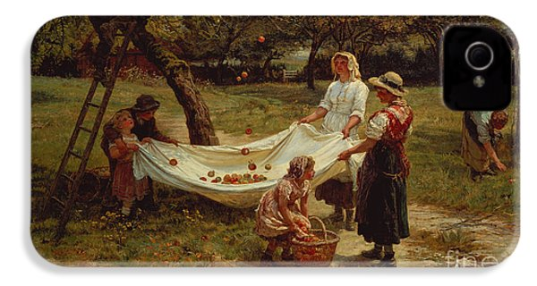 The Apple Gatherers IPhone 4 / 4s Case by Frederick Morgan