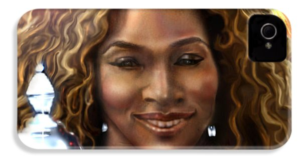 The Beauty Victory That Is Serena IPhone 4 / 4s Case by Reggie Duffie