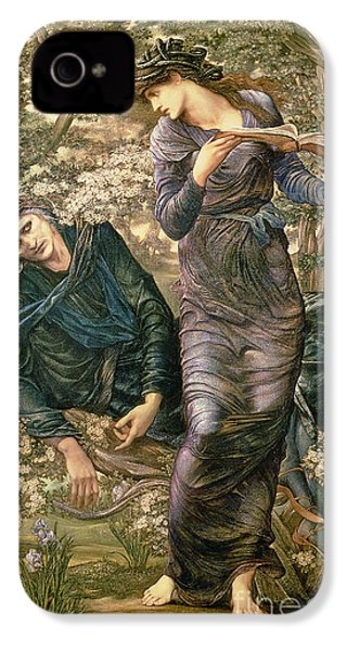 The Beguiling Of Merlin IPhone 4 / 4s Case by Sir Edward Burne-Jones