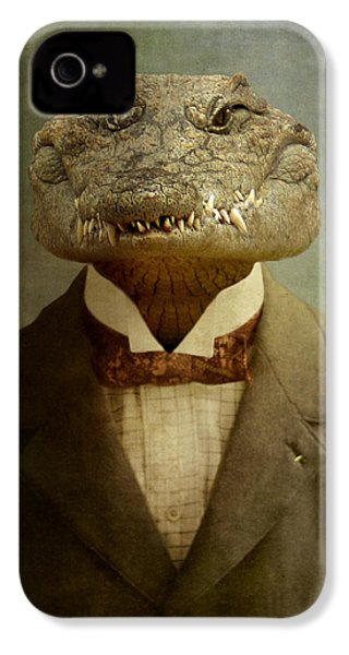 The Boss IPhone 4 / 4s Case by Martine Roch