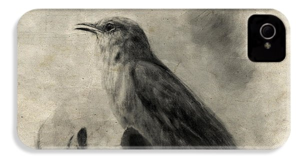 The Call Of The Mockingbird IPhone 4 / 4s Case by Jai Johnson