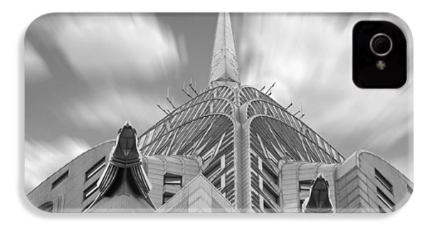 The Chrysler Building 2 IPhone 4 / 4s Case by Mike McGlothlen