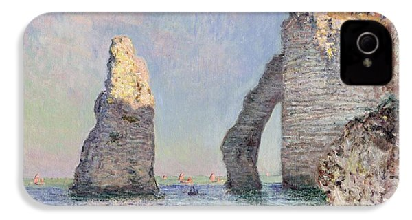 The Cliffs At Etretat IPhone 4 / 4s Case by Claude Monet