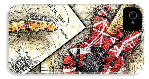 The Frankenstrat IPhone 4 / 4s Case by Gary Bodnar