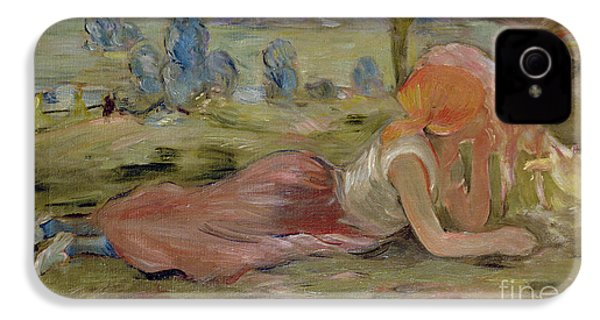 The Goatherd IPhone 4 / 4s Case by Berthe Morisot