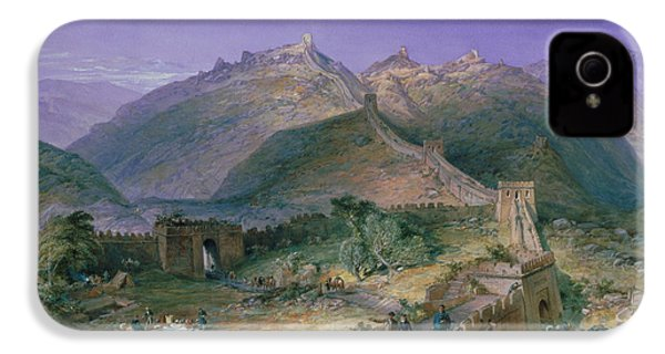 The Great Wall Of China IPhone 4 / 4s Case by William Simpson
