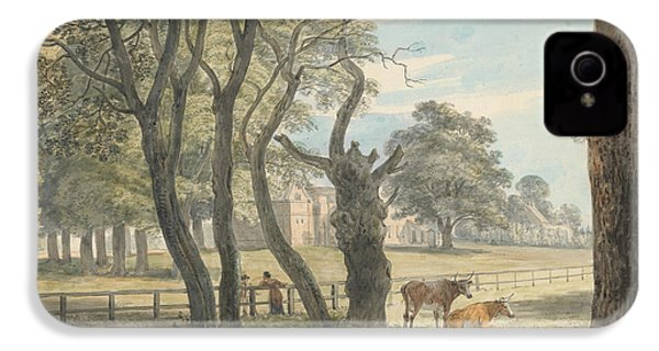 The Gunpowder Magazine, Hyde Park IPhone 4 / 4s Case by Paul Sandby