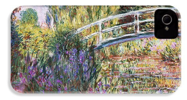 The Japanese Bridge IPhone 4 / 4s Case by Claude Monet