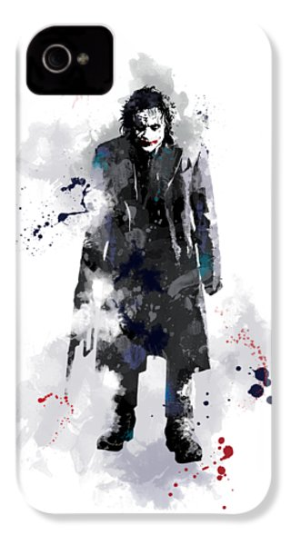 The Joker IPhone 4 / 4s Case by Marlene Watson
