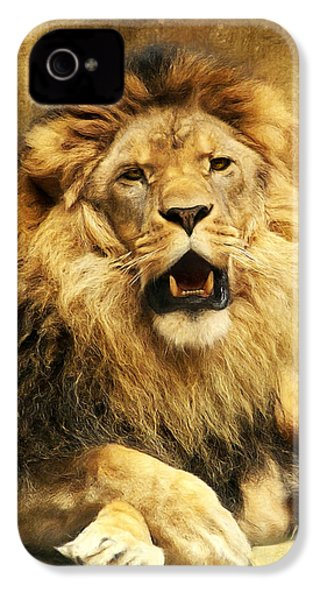 The King IPhone 4 / 4s Case by Angela Doelling AD DESIGN Photo and PhotoArt