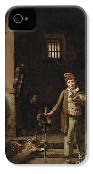 The Little Savoyards' Bedroom Or The Little Groundhog Shower IPhone 4 / 4s Case by Celestial Images