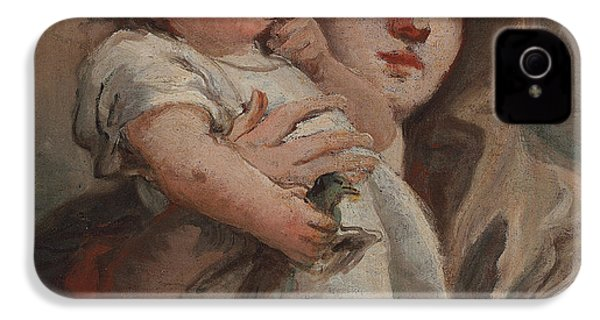 The Madonna And Child With A Goldfinch IPhone 4 / 4s Case by Tiepolo