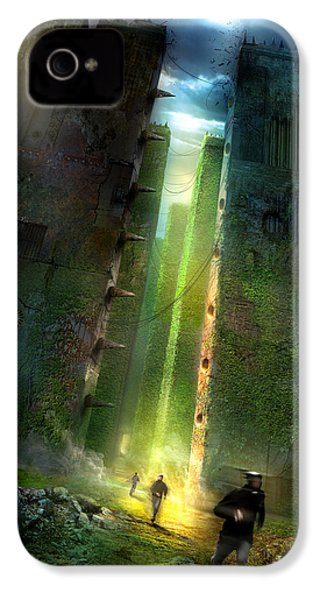 The Maze Runner IPhone 4 / 4s Case by Philip Straub