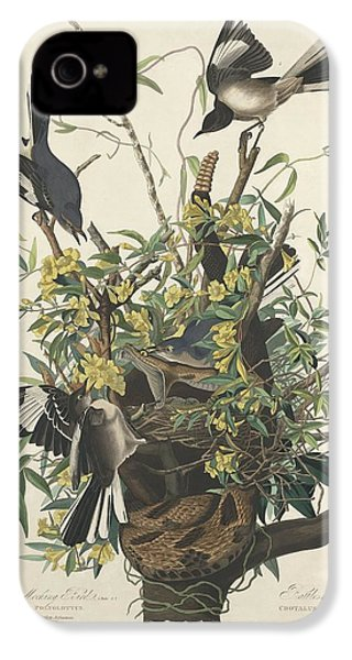 The Mockingbird IPhone 4 / 4s Case by John James Audubon
