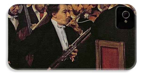 The Opera Orchestra IPhone 4 / 4s Case by Edgar Degas