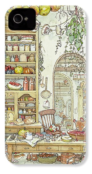 The Palace Kitchen IPhone 4 / 4s Case by Brambly Hedge