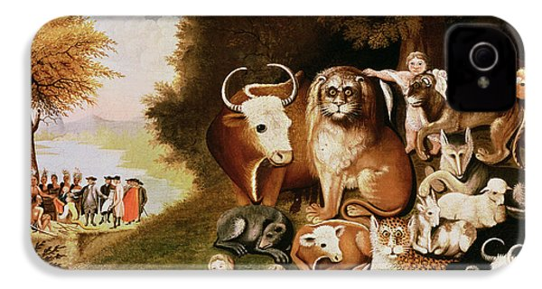 The Peaceable Kingdom IPhone 4 / 4s Case by Edward Hicks