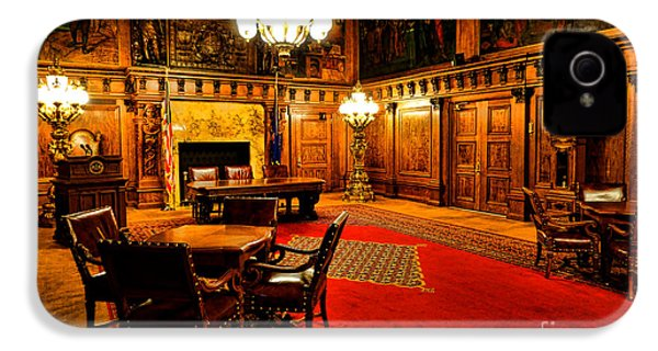 The Pennsylvania Governor Office IPhone 4 / 4s Case by Olivier Le Queinec