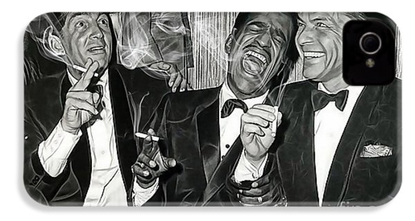 The Rat Pack Collection IPhone 4 / 4s Case by Marvin Blaine