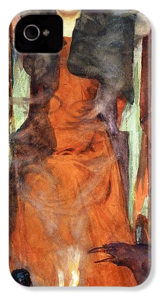 The Sorceress IPhone 4 / 4s Case by Henry Meynell Rheam