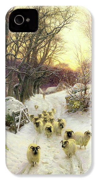 The Sun Had Closed The Winter's Day  IPhone 4 / 4s Case by Joseph Farquharson