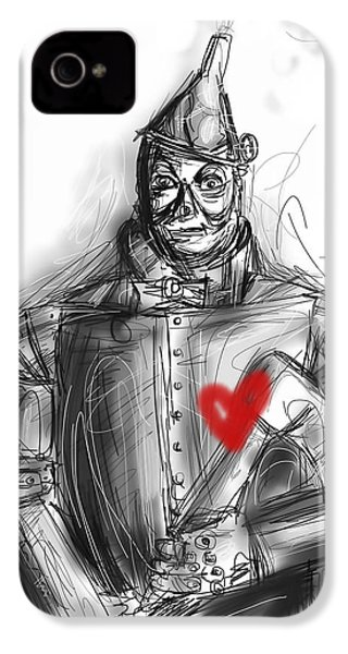 The Tin Man IPhone 4 / 4s Case by Russell Pierce