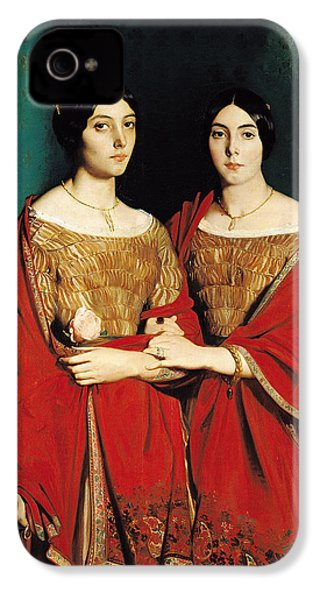 The Two Sisters IPhone 4 / 4s Case by Theodore Chasseriau