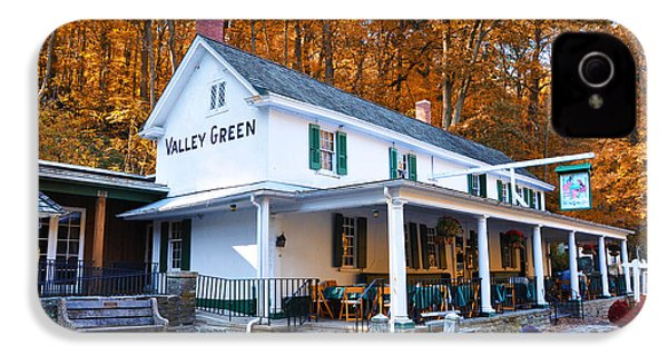 The Valley Green Inn In Autumn IPhone 4 / 4s Case by Bill Cannon