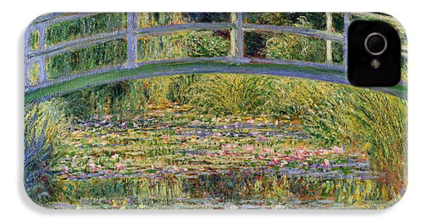 The Waterlily Pond With The Japanese Bridge IPhone 4 / 4s Case by Claude Monet