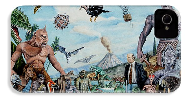 The World Of Ray Harryhausen IPhone 4 / 4s Case by Tony Banos