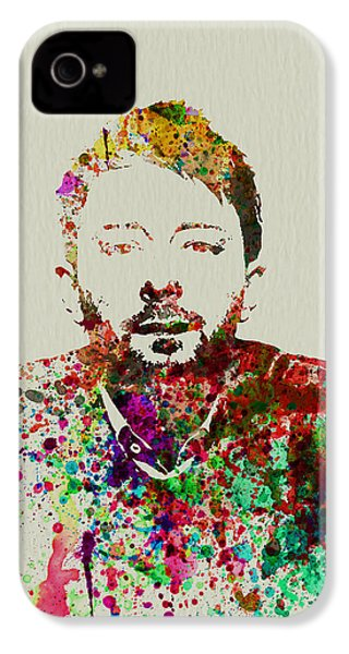 Thom Yorke IPhone 4 / 4s Case by Naxart Studio