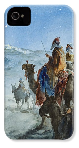 Three Wise Men IPhone 4 / 4s Case by Henry Collier