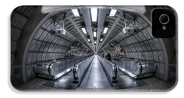 Through The Tunnel IPhone 4 / 4s Case by Evelina Kremsdorf