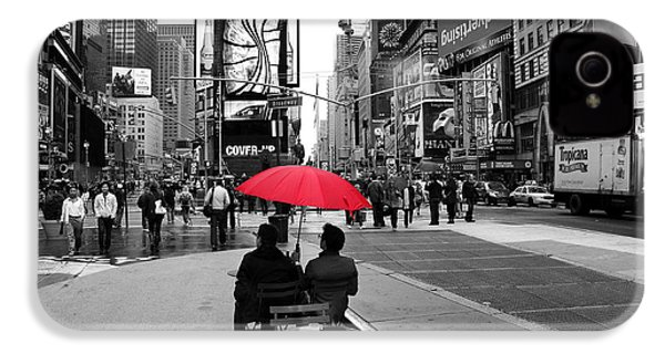 Times Square 5 IPhone 4 / 4s Case by Andrew Fare