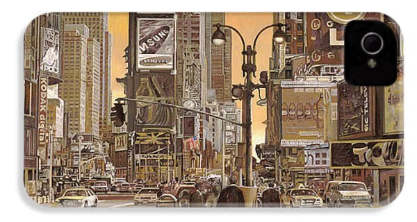 Times Square IPhone 4 / 4s Case by Guido Borelli