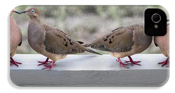 Together For Life IPhone 4 / 4s Case by Betsy Knapp