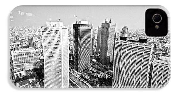 Tokyo Skyline IPhone 4 / 4s Case by Pravine Chester