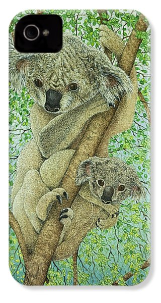 Top Of The Tree IPhone 4 / 4s Case by Pat Scott