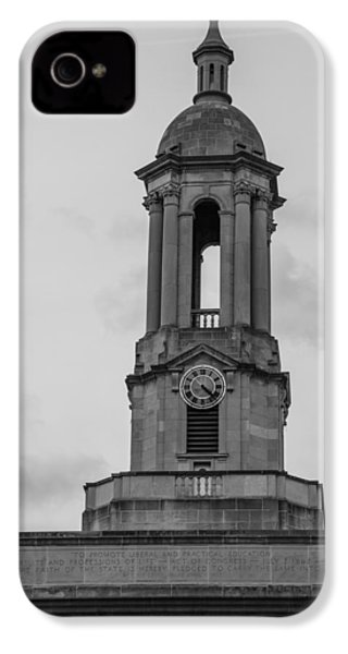 Tower At Old Main Penn State IPhone 4 / 4s Case by John McGraw