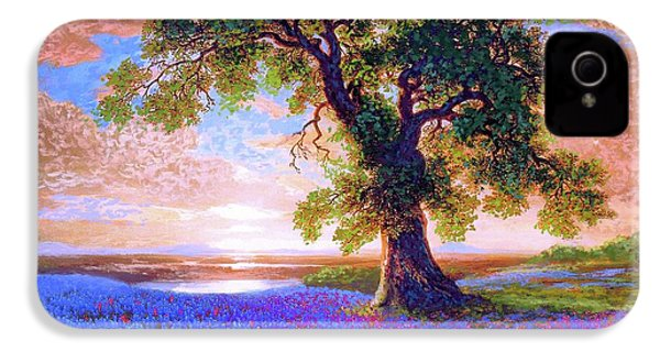 Tree Of Tranquillity IPhone 4 / 4s Case by Jane Small