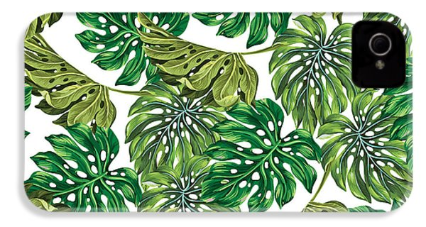 Tropical Haven  IPhone 4 / 4s Case by Mark Ashkenazi