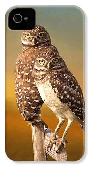 Two Of Us IPhone 4 / 4s Case by Kim Hojnacki