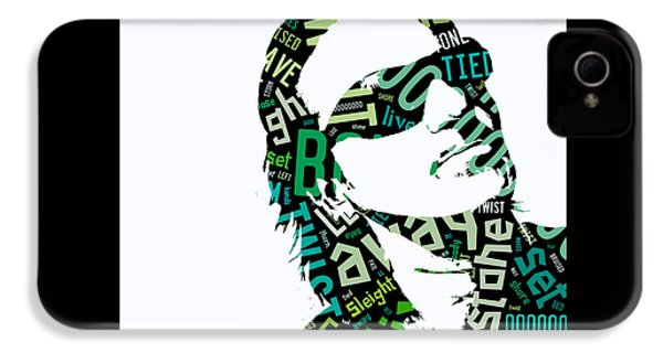 U2 Bono With Or Without You IPhone 4 / 4s Case by Marvin Blaine