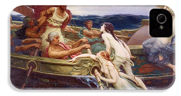 Ulysses And The Sirens IPhone 4 / 4s Case by Herbert James Draper