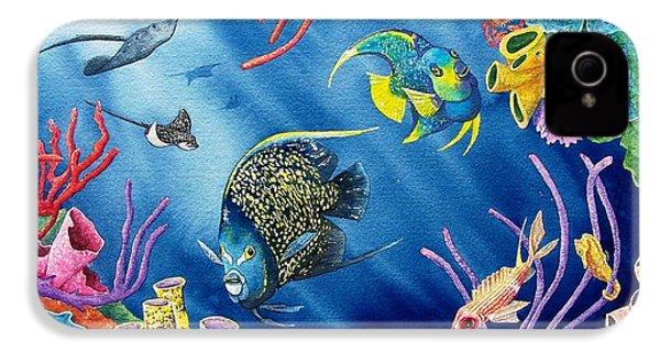 Undersea Garden IPhone 4 / 4s Case by Gale Cochran-Smith