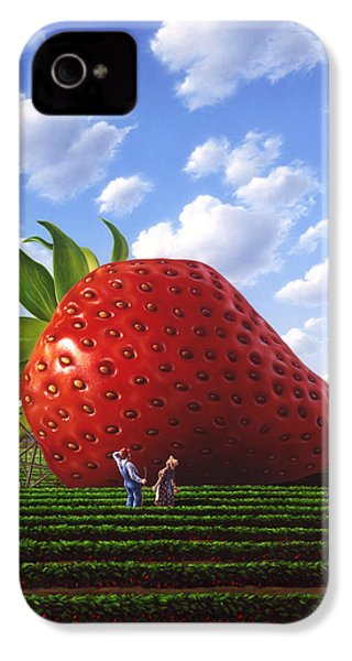 Unexpected Growth IPhone 4 / 4s Case by Jerry LoFaro