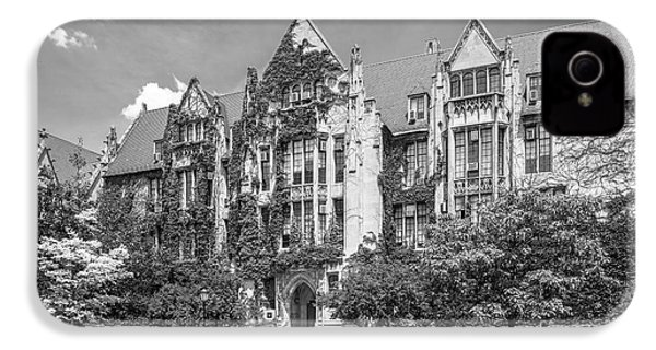University Of Chicago Eckhart Hall IPhone 4 / 4s Case by University Icons